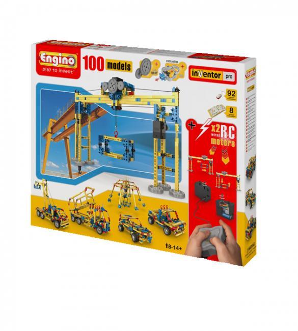 Конструктор, 100 моделей с 2 электродвигателями
