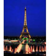 Светящиеся пазлы Эйфелева башня, Париж 1000