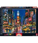 Светящиеся пазлы Таймс-сквер, Нью-Йорк 1000