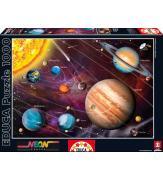 Светящиеся пазлы Солнечная система 1000