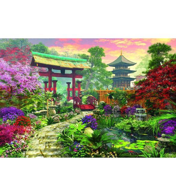 Пазлы Японский сад 3000