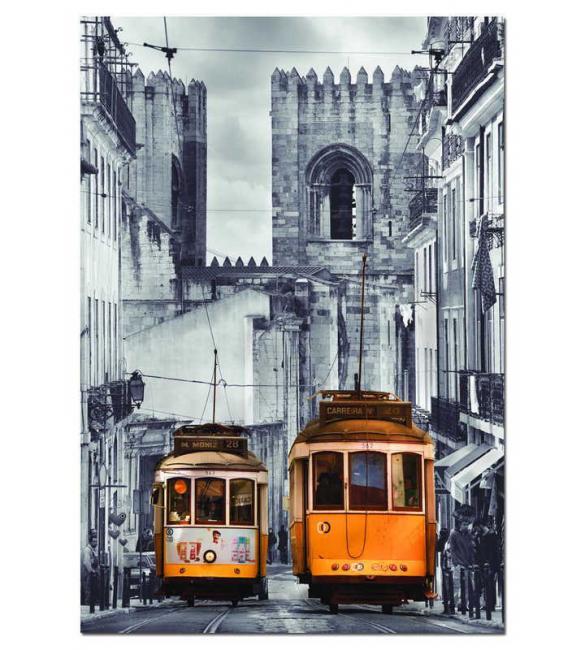 Пазлы Район Алфама, Лиссабон 1500