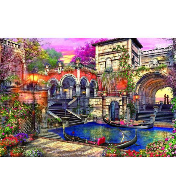 Пазлы Романтическая Венеция 3000