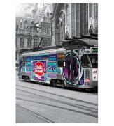 Пазлы Трамвай в Генти 500