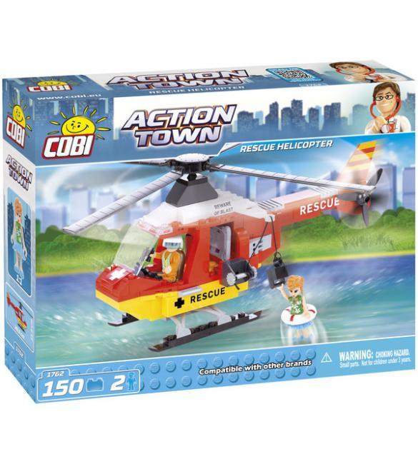 Конструктор Cobi Action Town - Спасательный вертолет