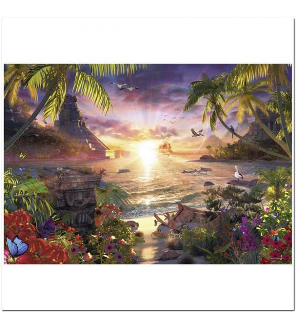 Пазлы Закат Солнца 18000