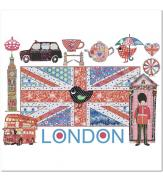 Пазлы Лондонские мотивы 1000