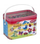 Набор 10 000 цветных бусин для термомозаики, 50 цветов в корзинке 5+
