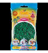 Набор 1000 зеленых бусин для термомозаики 5+