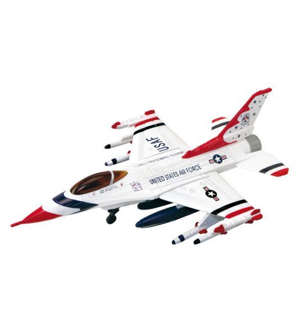 Объемный пазл Истребитель F-16C Thunderbirds (Буревестники)