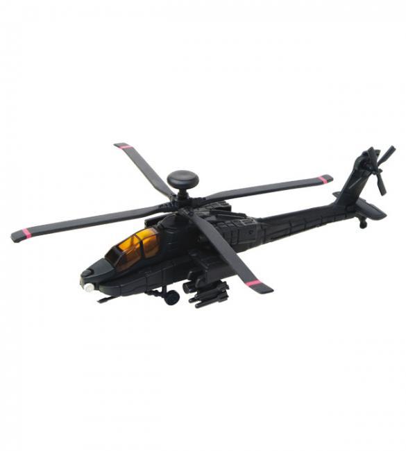 Объемный пазл Военный вертолет AH-64 Black Apache