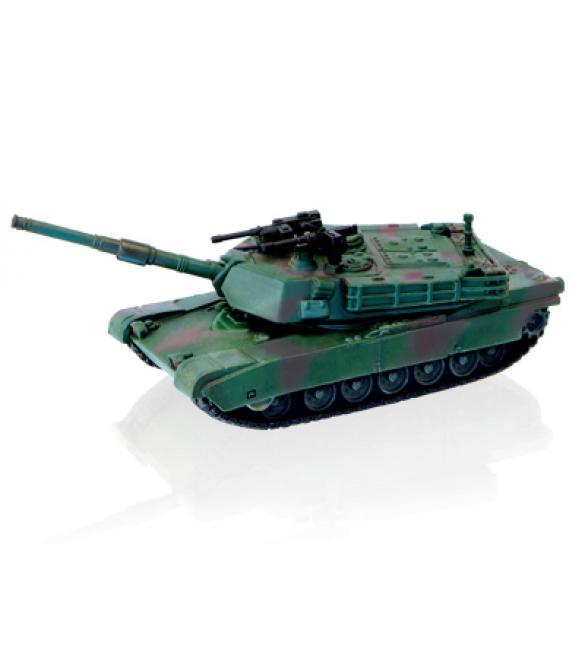 Объемный пазл Танк  M1A2 ABRAMS (WOODLAND)