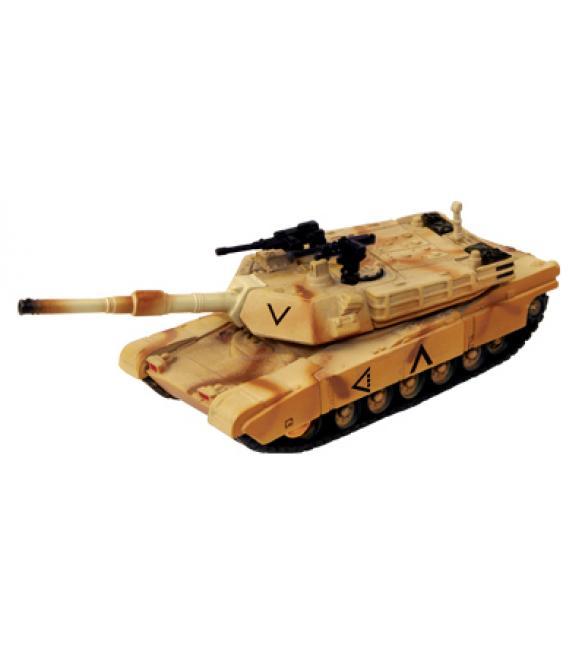 Объемный пазл Танк M1A2 ABRAMS  (DESERT CAMOUFLAGE)