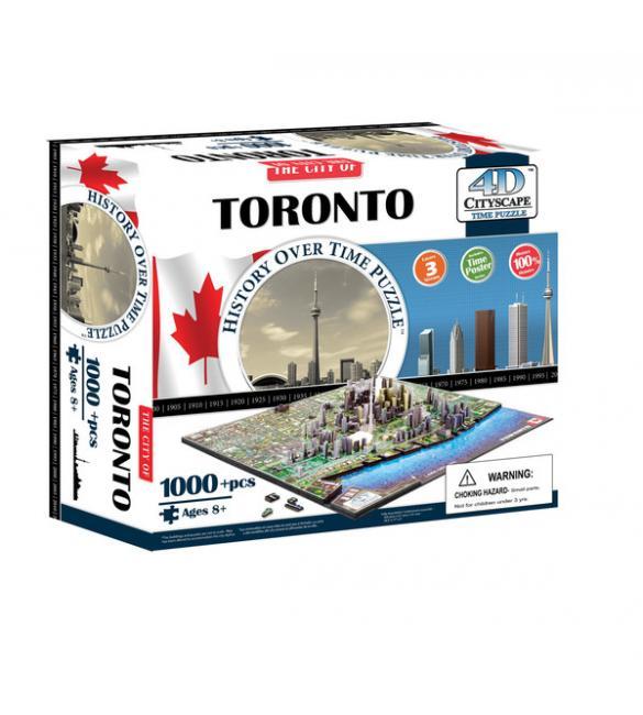 """Объемный пазл """"Торонто, Канада"""""""