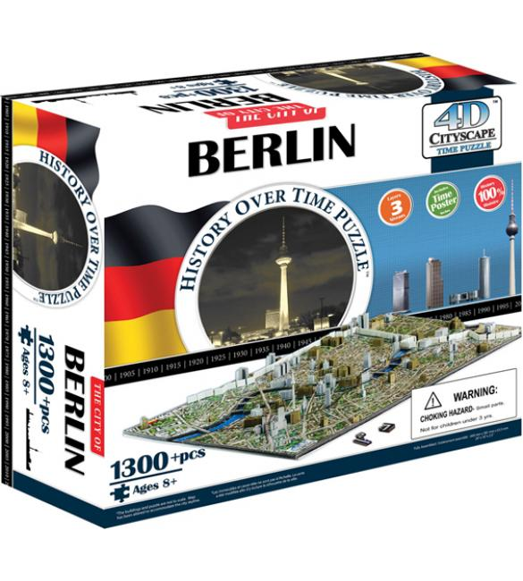 "Объемный пазл ""Берлин, Германия"""