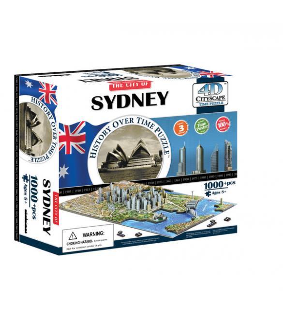 """Объемный пазл """"Сидней, Австралия"""""""
