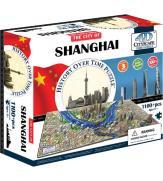 """Объемный пазл """"Шанхай, Китай"""""""