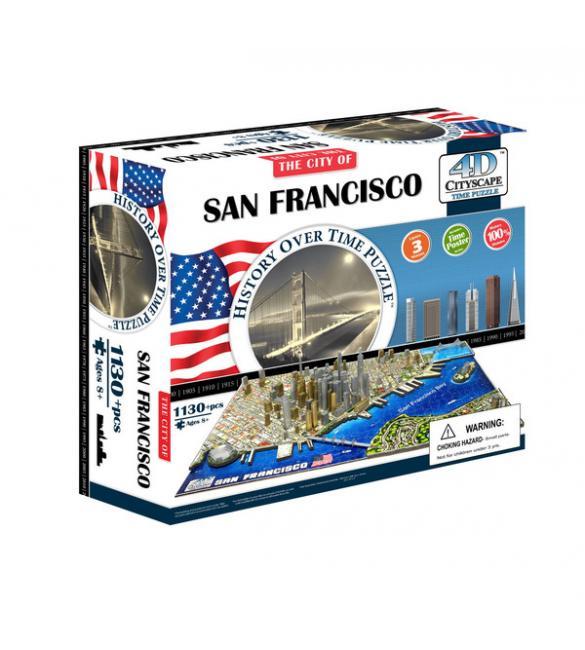 """Объемный пазл """"Сан-Франциско, США"""""""