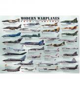 Пазлы Современные военные самолеты 1000