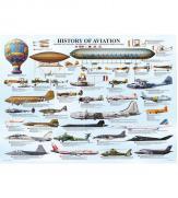 Пазлы История авиации 1000