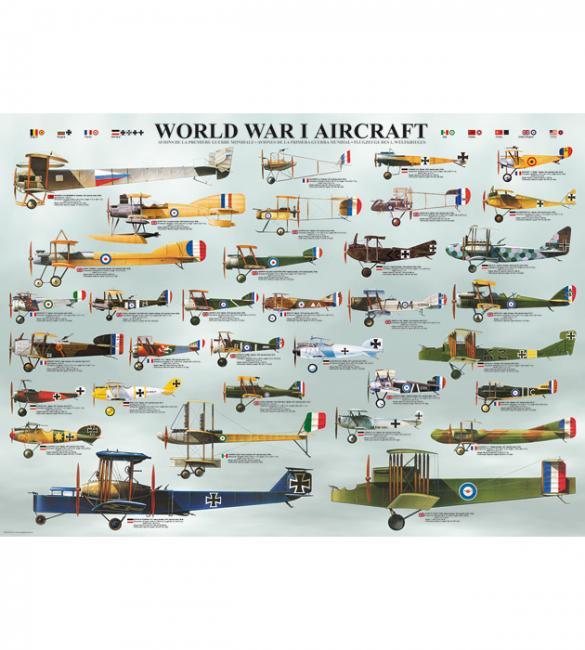 Пазлы Самолеты 1-й Мировой войны