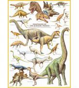 Пазлы Динозавры Юрского периода 1000