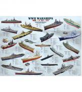 Пазлы Корабли 2-й Мировой войны 1000
