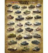 Пазлы Танки 2-й Мировой войны 1000