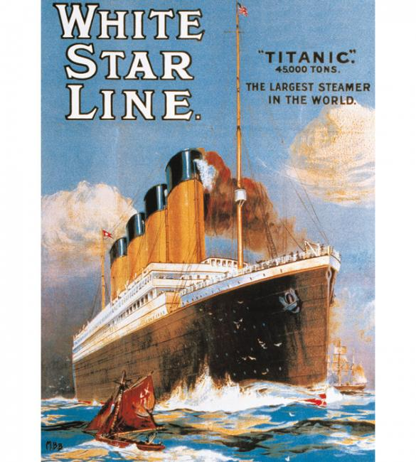 Пазлы Титаник - Уайт Стар Лайн 1000