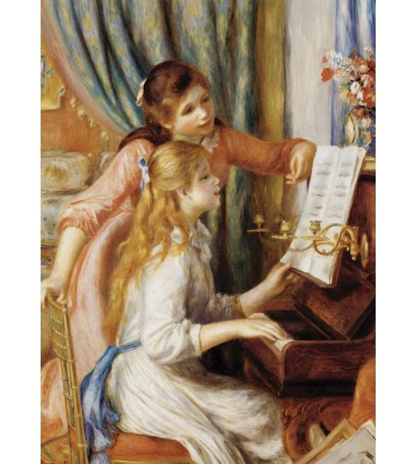 """Пазлы """"Девушки у пианино"""" Пьер Огюст Ренуар 1000"""