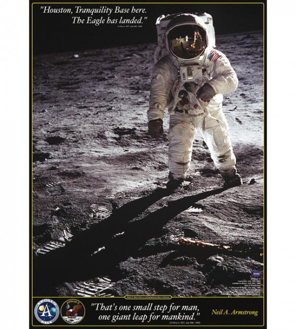 Пазлы Прогулка по Луне 1000
