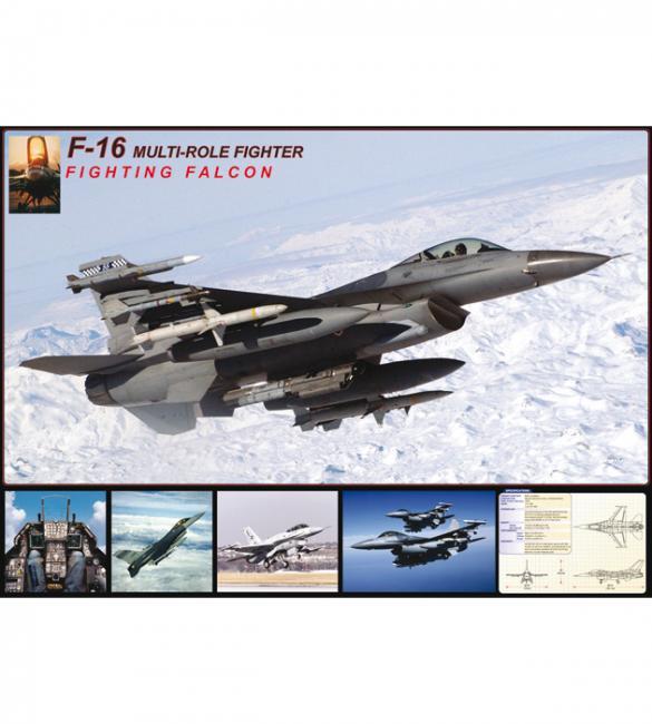 Пазлы F-16 в полете 1000
