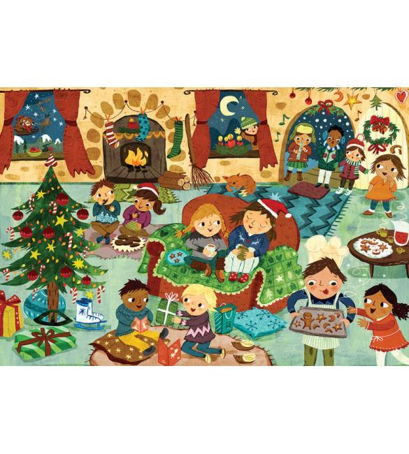 Пазлы Рождественная вечеринка 60