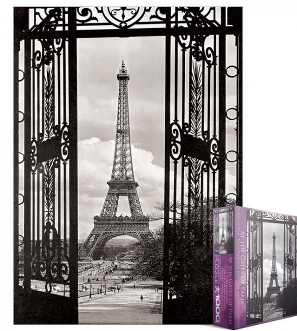 Пазлы Эйфелева башня 1000