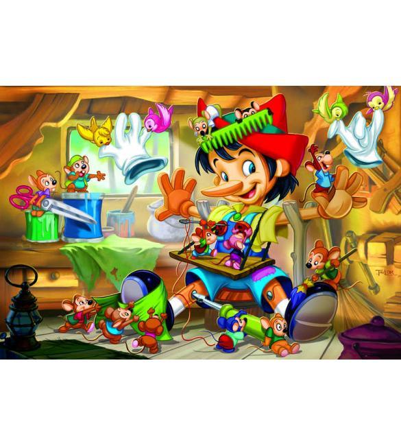 Пазлы Пиноккио 35