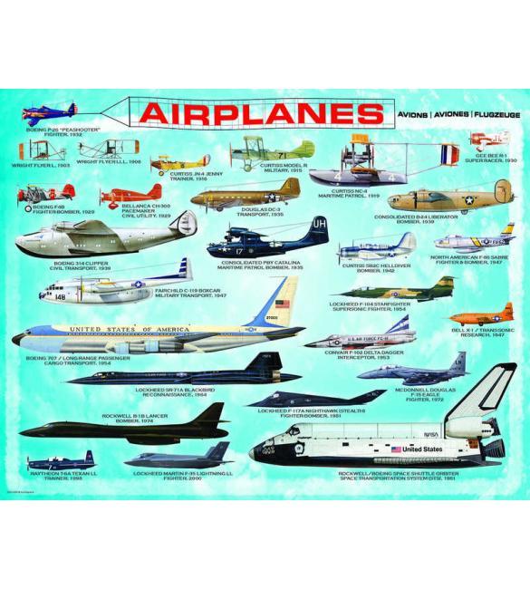 Пазлы Самолеты 100