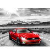 Пазлы Форд Мустанг GT 2015 года 100