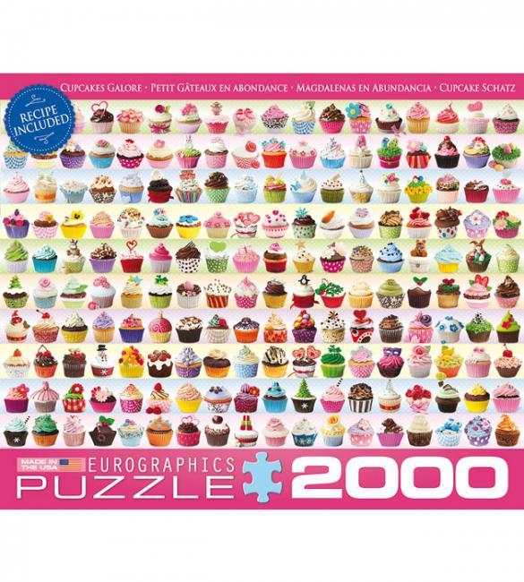 Пазлы Кексы 2000