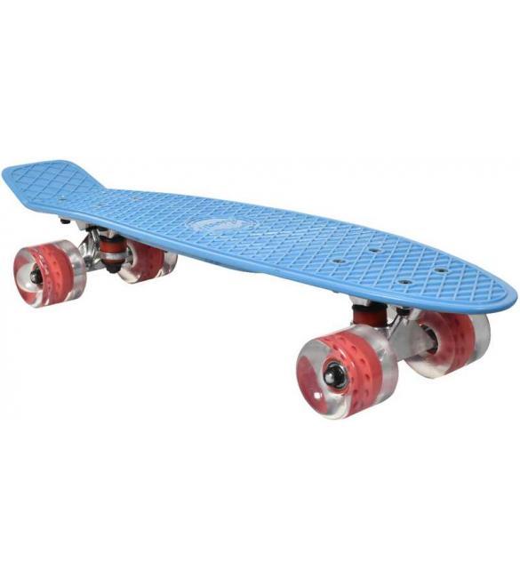 Скейтборд AWAII SK8 Vintage 22.5' синий, до 100кг