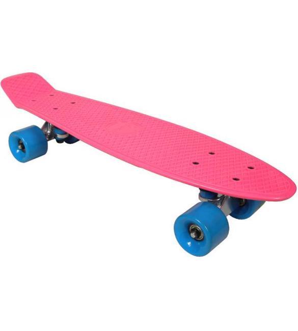 Скейтборд AWAII SK8 Vintage 22.5' розовый, до 100кг