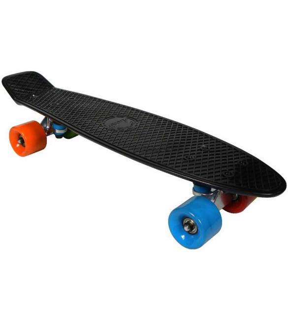Скейтборд AWAII SK8 Vintage 22.5' черный, до 100кг