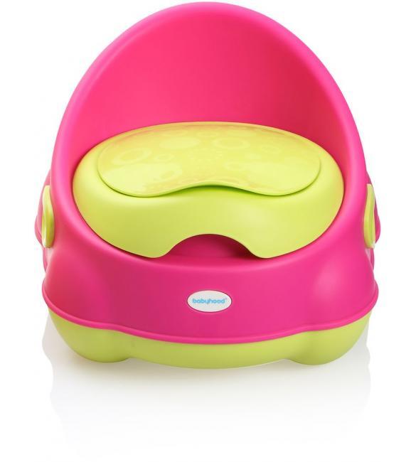 """Детский горшок BH-112P Babyhood """"Изобретатель"""" розовый"""