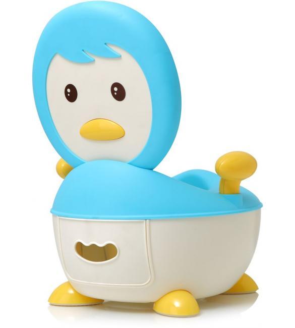 """Детский горшок Babyhood ВН-113B """"Пингвин"""" голубой"""