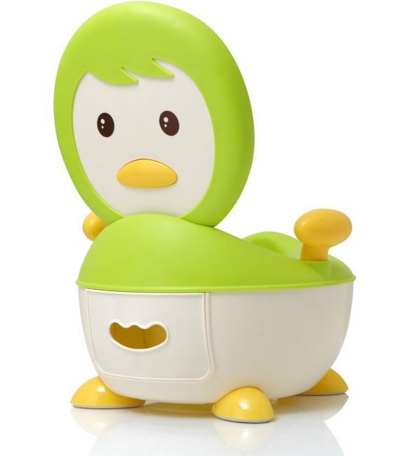 """Детский горшок Babyhood ВН-113G """"Пингвин"""" зеленый"""