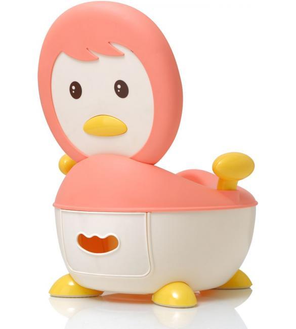 """Детский горшок Babyhood ВН-113P """"Пингвин"""" розовый"""