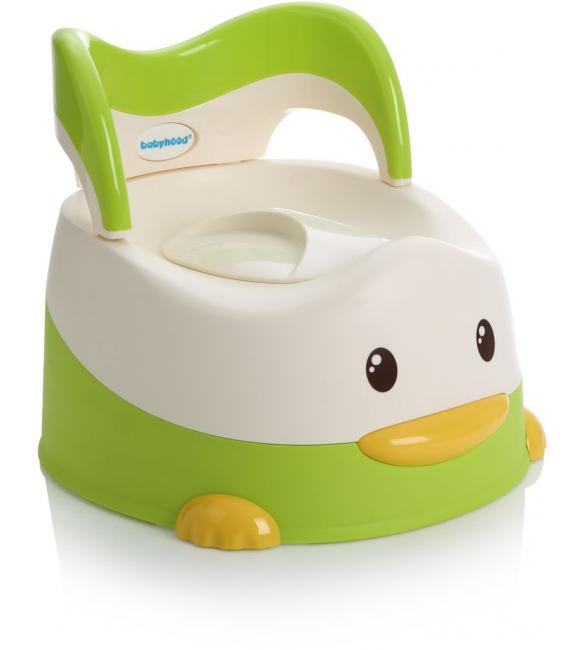 """Детский горшок BH-114G  Babyhood  """"Утенок"""" зеленый"""