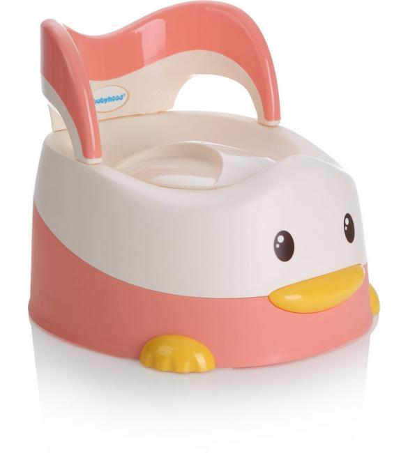 """Детский горшок BH-114P  Babyhood  """"Утенок"""" розовый"""