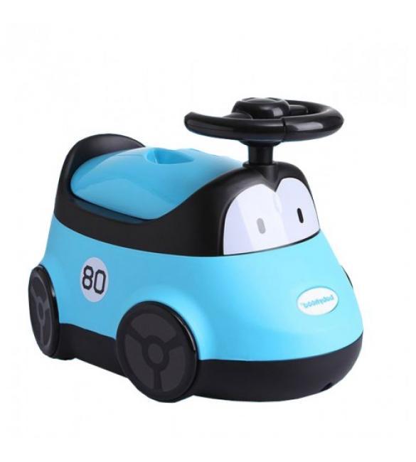 """Детский горшок BH-116B Babyhood """"Автомобиль"""" голубой"""