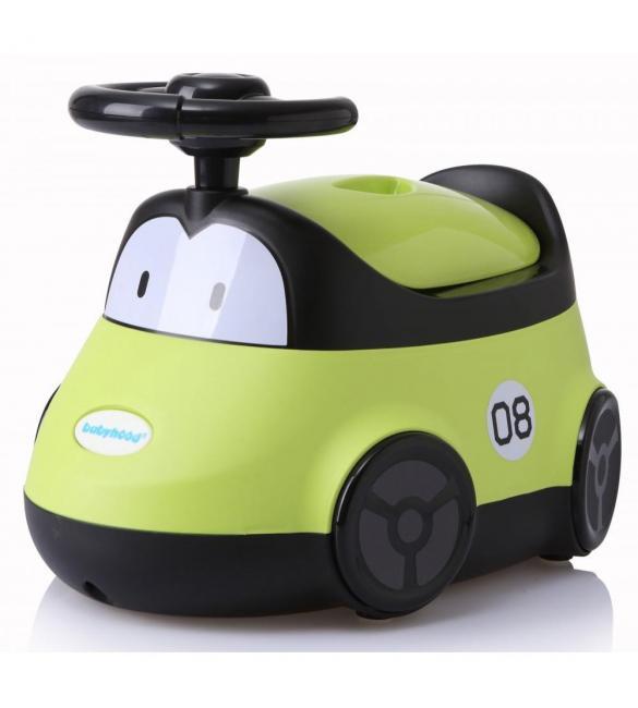 """Детский горшок BH-116G Babyhood """"Автомобиль"""" зеленый"""