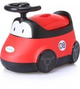 """Детский горшок BH-116R Babyhood """"Автомобиль"""" красный"""